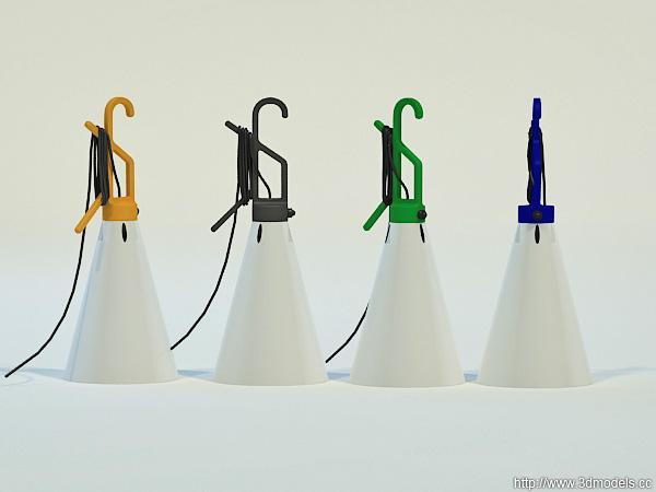 Lanterna mayday by konstantin grcic mydecor - Lamp may day ...