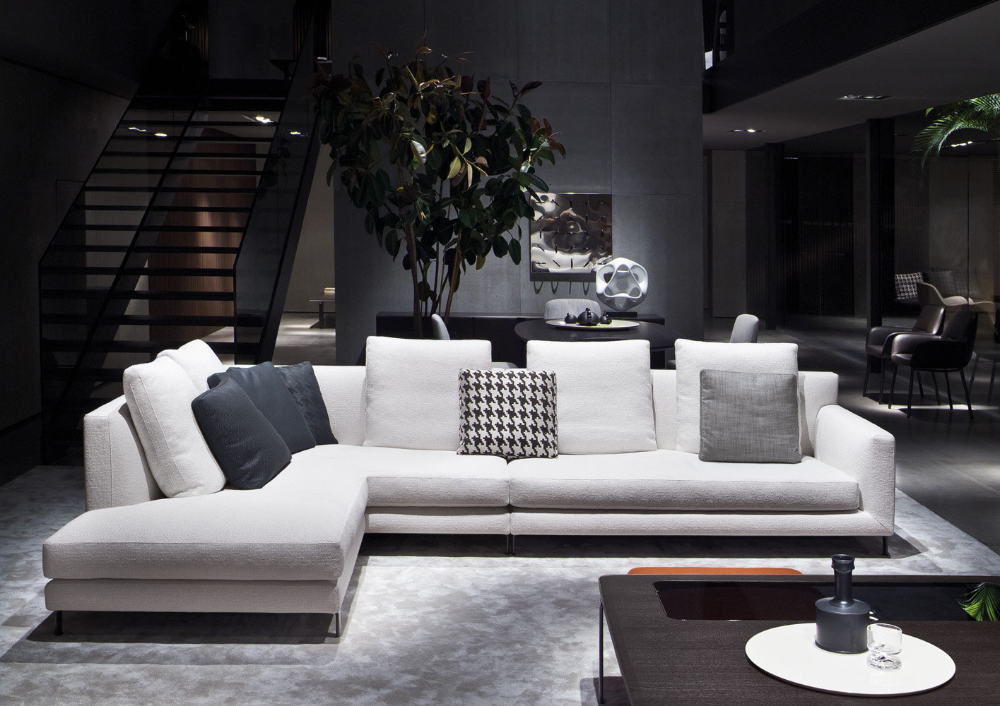 Minotti mydecor for Sala de estar beige