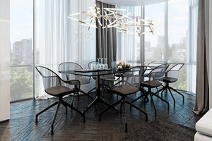 SOPHISTICATED DESIGN DINING ROOM