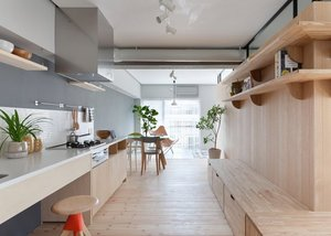 APARTMENT IN MODERN JAPANESE MINIMALIST STYLE